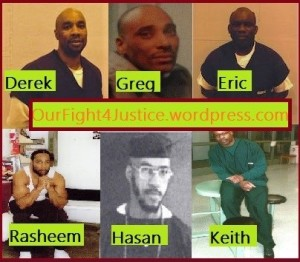 photos of lifers of OurFight4Justice and 3 of the Lucasville5